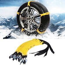 Auto Schneeketten Anfahrhilfe Schnee Reifenkette Eis Reifen Stabile 185-225mm