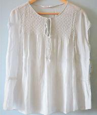 Zara Tie Neck Tops & Shirts for Women
