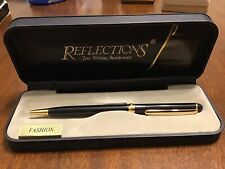 Reflections Fine Writing Instruments Ink Pen ~ Black Ink ~