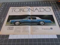 1973 Oldsmobile Toronado - Double Page Ad - 1970s Car Advertising
