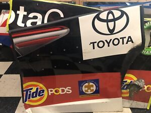 Matt Kenseth Joe Gibbs 20 Toyota Nascar Race Used Sheetmetal Quarter Panel