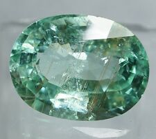 8.91ct. AGL Certified Rare XL SI1, Copper-Bearing PARAIBA TOURMALINE, Blue-Green