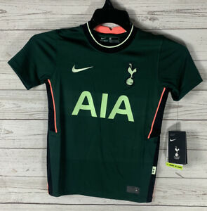 Nike Youth Tottenham Hotspurs Away Jersey 20/21 Green Size Small Authentic NEW
