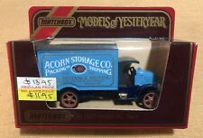 Matchbox Y30 1920 AC Mack Acorn Storage Co. Models Of Yesteryear Collectable