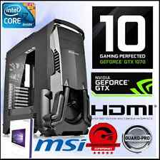 Gaming PC Intel i7 6700k 4,20ghz- NVIDIA gtx1070 8gb -win10-M.2-Ram 16gb-LIQUID