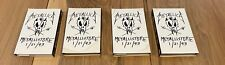 LOT OF 4 Metallica Metallistore 1/21/93 Live in Moscow PROMO tapes RARE PROMOS