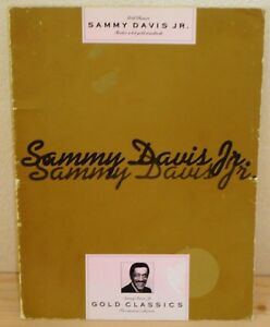 SPARTITO TABLATURE SAMMY DAVIS JR Gold classics (Wise 89 UK) r&b soul songbook