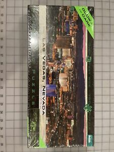 Las Vegas NV 750 Piece Panoramic Glow In The Dark Jigsaw Puzzle Over 3' Wide NEW