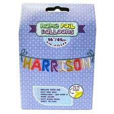 Royal County Products Name Foil Balloons - Harrison - New