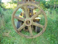 Large Industrial Gear Steampunk Good for Industrial Art Sculpture