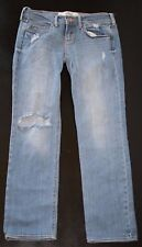Hollister Light Wash Distressed Jeans  Size 1 Juniors