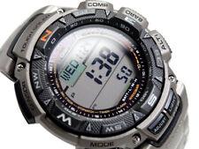 Casio Pro Trek PRG-240T-1ER Titanium, Triple Sensor, Solar, Altimeter, Compass.