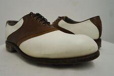 VTG Etonic Ultimate Gore-Tex Saddle Golf Spikes Golf Cleats Shoes sz 10D mens#63
