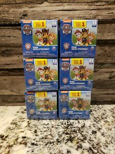 Paw Patrol Blind Box Mighty Pups Figures Series 1 Lot Of 6 **NEW**