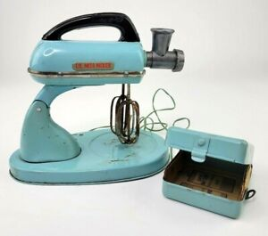 Tinplate Vintage Toy 1960s Kitchen Mixer - Lil Miss Mixer - Made in Japan