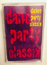 Dance Party Classix Cassette Tape House Music Voodoo Ray 1996 Sealed New!