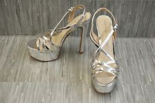 Chinese Laundry Teaser Platform Heels - Women's Size 7.5, Silver