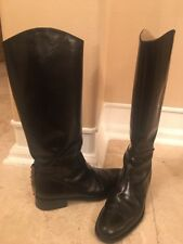 Gianfranco Ferre Leather Boots Women Size EU 40 / US 9,5 Made In Italy