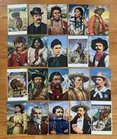 US Post Cards #UX178-197 #2869 a-t Set of 20 Legends West  CV:$60