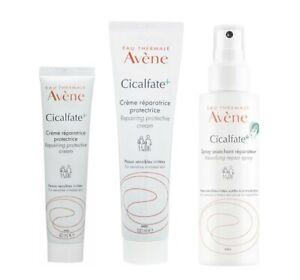 AVENE Cicalfate+ Repairing Protective Cream 40ml | 100ml | Absorbing Spray 100ml