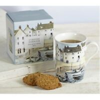 Cornish Harbour Bone China Mug by Creative Tops - Gift Boxed - 1st Class Post!