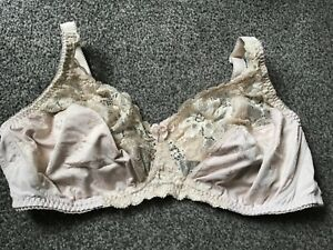 MARKS & SPENCER LADIES NON WIRED UNPADDED BRA,ALMOND COLOUR,SIZE 40D