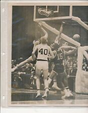 Original Pat Riley U of Kentucky 1965 Photo w Larry Conley played Texas Western
