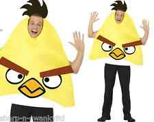Mens Adult Yellow Angry Birds Comedy Stag Do Fun Fancy Dress Up Costume Outfit