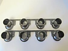 "Big Block Ford Header Flanges w/ Stubs Welded 429 460 2.00 Port 1/2"" Flange"
