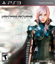 Lightning Returns: Final Fantasy 13 XIII [PlayStation 3 PS3, Enix Action RPG]