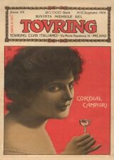 CORDIAL CAMPARI, Italy, 1909, 250gsm A3 Poster