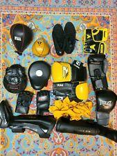 Boxing Mma Training Gear Lot Gloves Title Everlast Ufc Anthem Venom Speed Bag