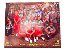 """1988 Team 7-11 Poster 16x20"""" ORIGINAL Hampsten Huffy Serotta TDF Map 2 side NOS"""