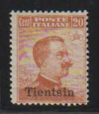 A8603: Italy, Offices in China, Tientsin #9; CV $200