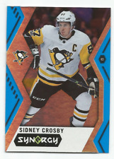 2017-18 Upper Deck Synergy Blue #10 Sidney Crosby Pittsburgh Penguins