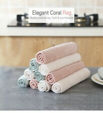 Household Towels. Double Wash Towel Water Absorbent Hand Cleaning Cloth