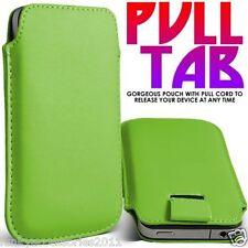 Cover e custodie verde Apple in pelle sintetica per cellulari e palmari