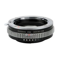 Fotodiox Objektivadapter Pro Sony Alpha (Minolta AF A-type) Linse für Nikon F