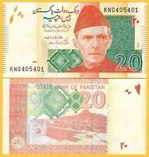 Pakistan 20 Rupees p-55 2019(1) UNC Banknote