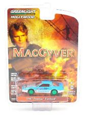 1:64 GreenLight *GREEN MACHINE* 1987 Pontiac Firebird McGayver HOLLYWOOD #17
