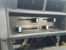 mitsubishi cordia 82-86 ac heater controls air conditioning