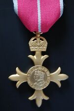 GOLD PLATED OBE, ORDER OF THE BRITISH EMPIRE
