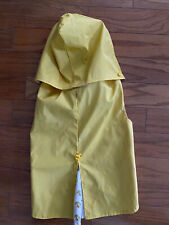 Top Paw Large Dog Yellow Raincoat With Hood And Ducks