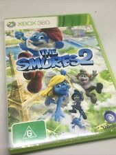 The Smurfs 2 Xbox 360 Game Complete with Manual PAL Free Post Disc Very Good