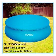 POOL COVER FOR INTEX AQUA DRICLAD 12' FOOT 366cm INFLATABLE SWIMMING POOL