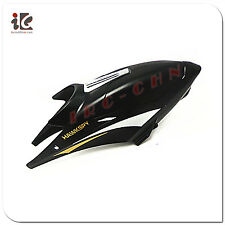 1X BLACK HEAD COVER CANOPY EGOFLY LT-711 HAWKSPY RC HELICOPTER PARTS LT711-01