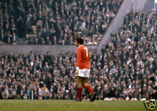 George Best Man Utd On Pitch 10x8 Photo