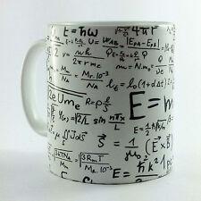 Matemáticas ecuaciones fórmulas Regalo Taza Taza actual profesor estudiante matemáticas Matemáticas