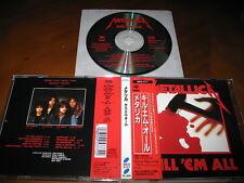 Metallica / Kill 'EM All JAPAN SRCS-5777 *B