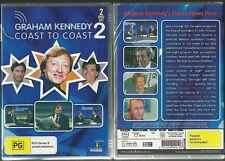 GRAHAM KENNEDY COAST TO COAST VOLUME 2 HILARIOUS AUSSIE COMEDY NEW 2 DISC SET